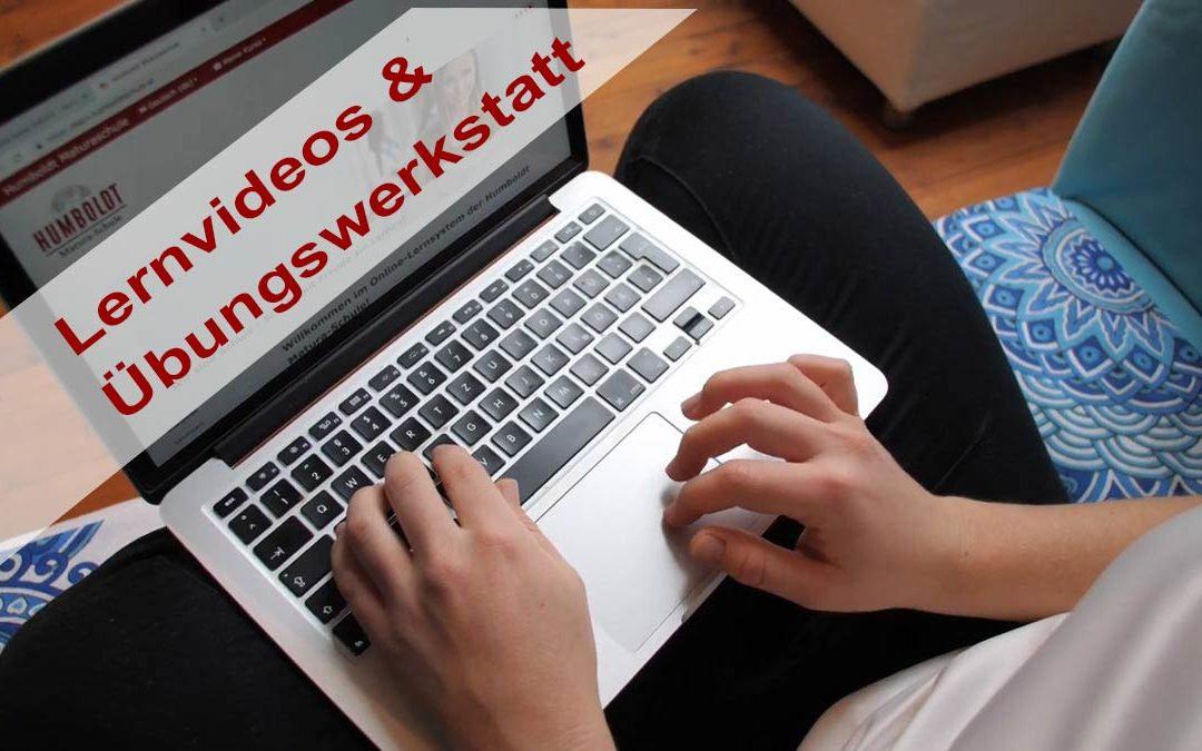 Lernvideos und Übungswerkstatt