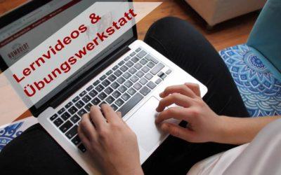 ✅ Lernvideos und Übungswerkstatt ⏯ machen das Lernen leicht